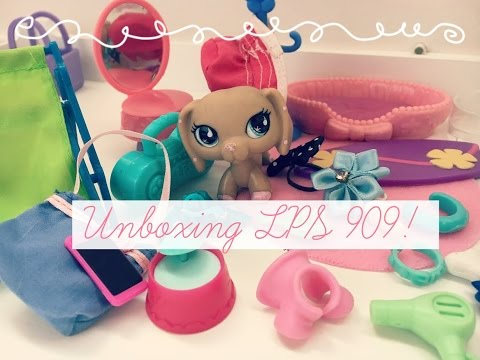 LPS:  Rare Dachshund 909 Unboxing! 😊  |  Lps Kitkat ♡