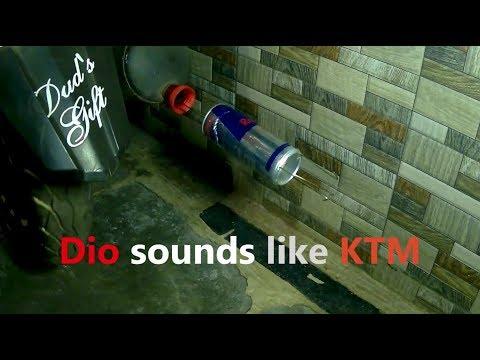 Dio Sounds Like Superbike | Homemade Exhaust | Technical