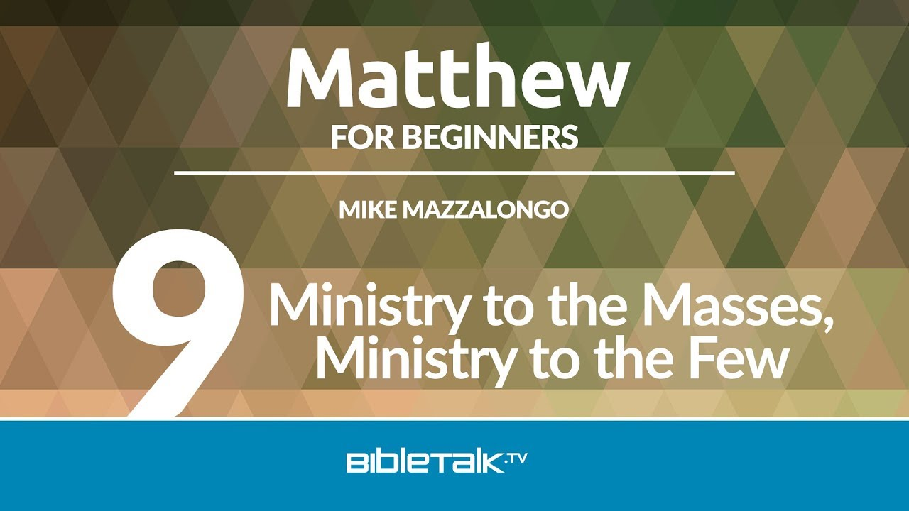 9. Ministry to the Masses, Ministry to the Few