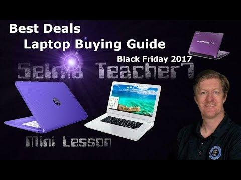 Best Laptop Deals for Black Friday 2017 - Lenovo, Dell, Samsung, HP...