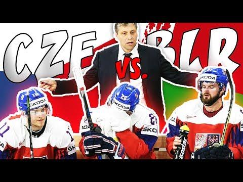 ČESKO - BĚLORUSKO | MS v hokeji 2018