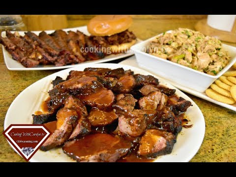 BBQ Country Style Ribs BBQ Brisket & BBQ Chicken Recipes -TAILGATING Recipes |Cooking With Carolyn