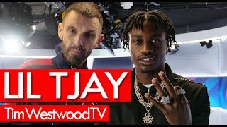 Lil Tjay on celeb crushes, Bronx, F.N, Hold On, Pop Out, drip - Westwood