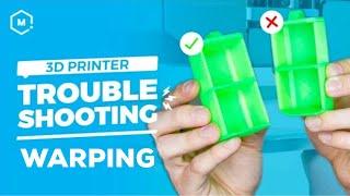3D Printer Troubleshooting Guide: Warping
