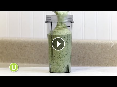 Video Tropical Green Smoothie | Get Healthy U Recipes
