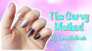 The Curvy Method - Jamberry Nail Wrap Application