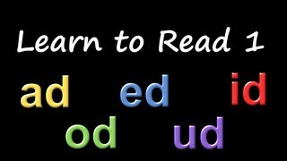 Learn to Read 1: Phonics & Rhyming - The Kids' Picture Show (Fun & Educational Learning Video)
