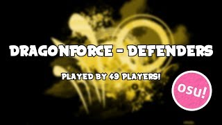 osu! DragonForce - Defenders played by 49 players!