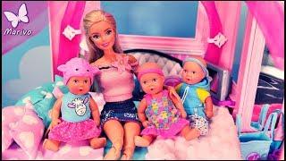 Rodzinka Barbie #19 * DZIECI ROZRABIAJĄ W DREAMHOUSE!!! * Bajka po polsku z lalkami