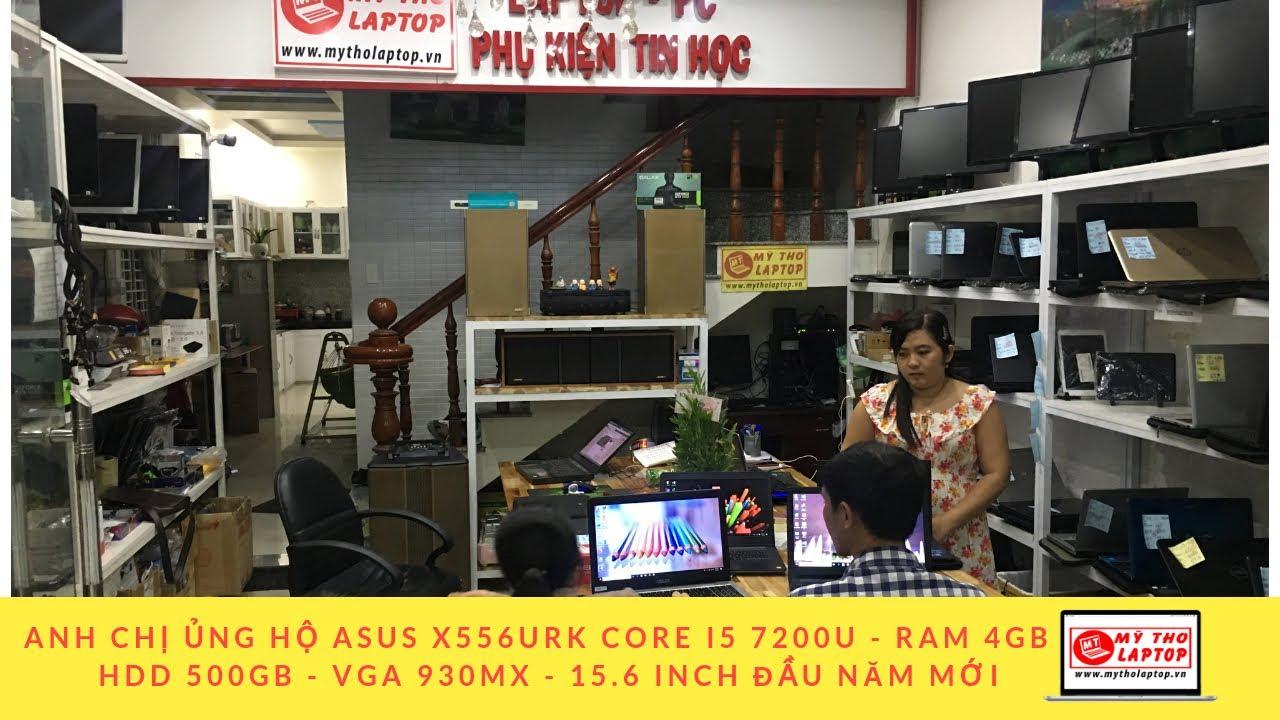 Anh chị ủng hộ ASUS X556URK CORE I5 7200U - RAM 4GB - HDD 500GB - VGA 930MX - 15.6 INCH đầu năm mới