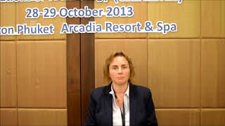 Interview with Prof Liz Bacon at the CSEIT 2013