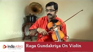 Raga Series - Raga Gundakriya on Violin by Jayadevan