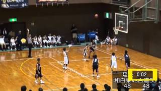 Dramatic Twist At The Last 3 Seconds (Japan Schoolers' Basketball Game)