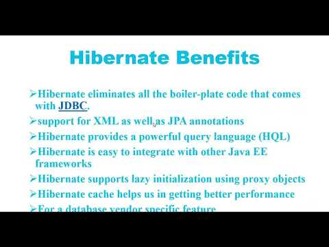 #1. Hibernate Framework Basics and Architecture