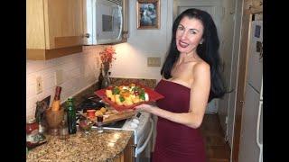 Living in Italian: Stone Fruit Pesto Salad