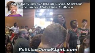 PDR Interview with Patrisse Cullors of Black Lives Matter