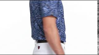 Active Fit Print Jersey Polo-video