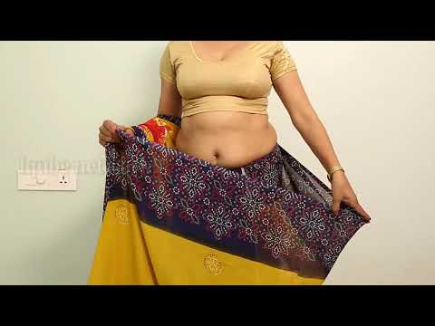 Best outfit ideas for curvy plus size housewife for saree draping   super viral videos