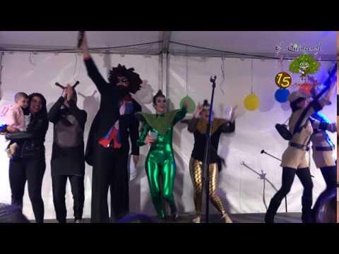 Pasacalles y Concurso de disfraces en Villanueva de Córdoba