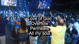 Fill Me Up   Jesus Culture   Kim Walker Worship Song with Lyrics Live From Chicago