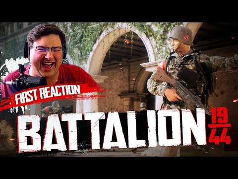 It's like Black Ops 4... but BETTER! - Battalion 1944 FIRST Time Sniping