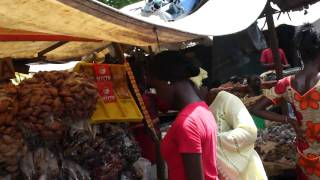 preview picture of video 'Albert Market Banjul The Gambia HD'