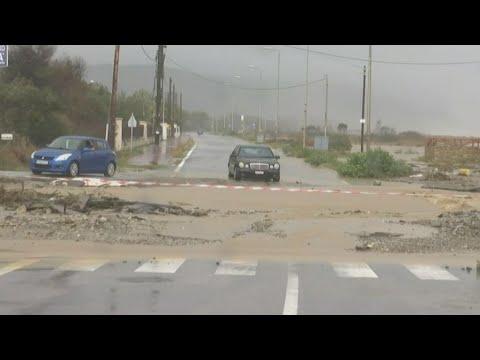 Κακοκαιρία «Αθηνά» – Λάρισα: Σοβαρές ζημιές στον δήμο Αγιάς