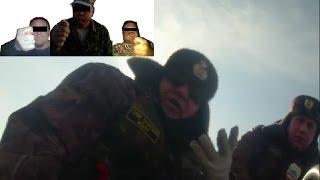 """""""Судак для Тани"""" часть 4.1 - бойня с рыбнадзором и охотоведом! 23.03.2014г."""