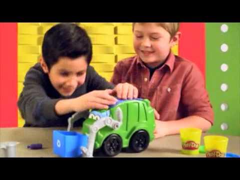 Ciastolina Play Doh Śmieciarka Rowdy | zabawkiTV