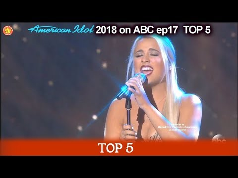 "Gabby Barrett sings ""I Have Nothing""FOR HER MOTHER  American Idol 2018 Top 5"