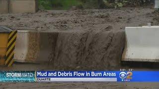 Duarte Thankful For K-Rails That Kept Major Mudslides At Bay