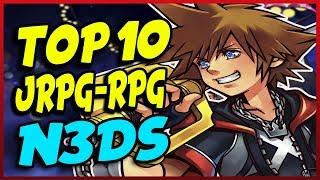 Los10MEJORESjuegosJRPG/RPGdelaNintendo3DS Top