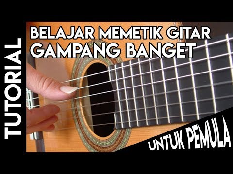 Video Cara Memetik Gitar