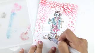 Craft With Crystal LIVE | New Digi Stamps + More