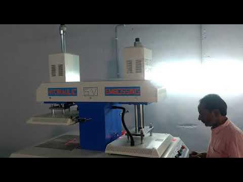 Hydraulic T Shirt Embossing Machines
