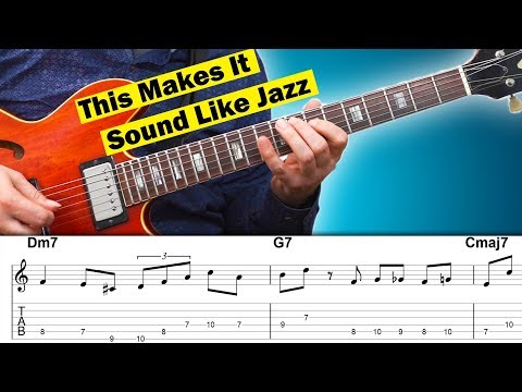 How To Sound like Jazz with 3 Easy Bebop Licks