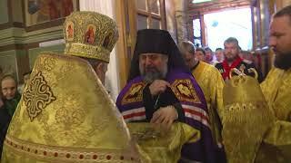 Архиерей новой Сочинской епархии провел первую службу. Новости Эфкате Сочи