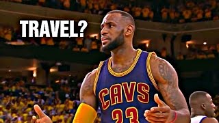 NBA Uncalled Travels Compilation