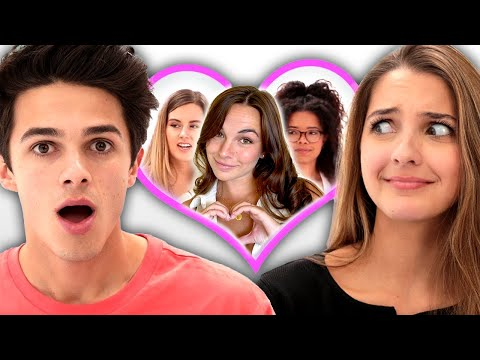 I let my sister pick my girlfriend | Date Takeover w/ Brent and Lexi Rivera & PIERSON!