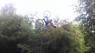 preview picture of video 'Ray Samson - DMR Bikes - Woburn backflip'