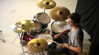 """""""Lead the Way"""" Further Seems Forever Drum Cover (Isaac Park-Age 15)"""