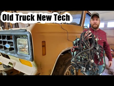 2002 WIRING Harness into a 1985 FORD RANGER