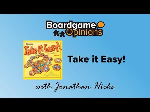 Boardgame Opinions: Take it Easy!