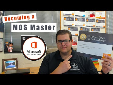 How Do I Earn the MOS Master Certification? - YouTube