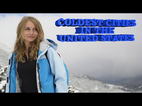 Download Top 10 Coldest cities in The United States. It's not all Alaska Mp4 HD Video and MP3