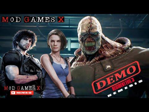 RESIDENT EVIL 3 Remake Demo AO VIVO - Testando a Versão de PC! ULTRA SETTINGS