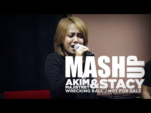 Akim & The Majistret / Stacy – Not For Wrecking ( Not For Sale X Wrecking Ball ) #MashUpHotFM