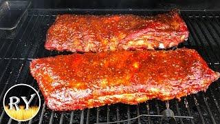 Smoking Ribs - Start To Finish On The Oklahoma Joe's Highland