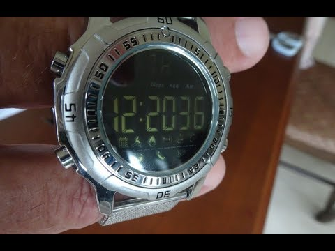 Zeblaze Vibe 2 Smartwatch. Unboxing, Demonstration and Water Test.