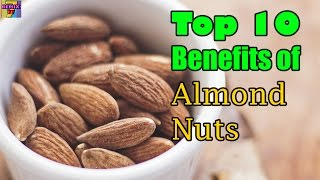 Benefits Of Almonds | Top 10 Healthy Benefits Of Almond Nuts